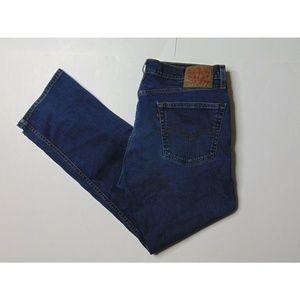 Levis 505 36x30 Blue Jeans Regular Fit Straight